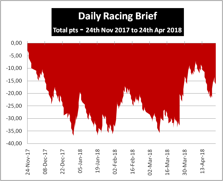 Daily Racing Brief Profits